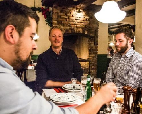 Julefrokost restaurant kronborg Mikkel bækgaard københavn hyggelig