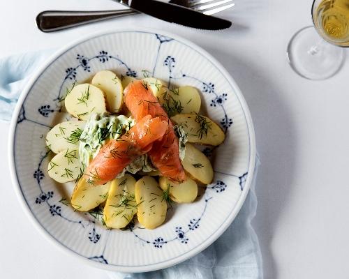 Københavns bedste frokost på Restaurant Kronborg smørrebrød øl akvavit
