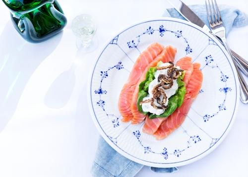 Julefrokost guide københavn restaurant kronborg laks family style