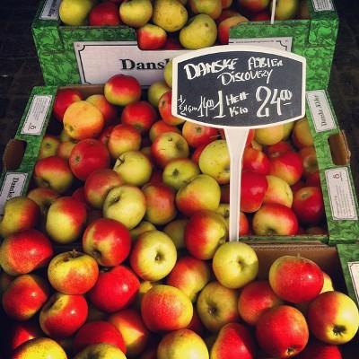 summer apples discovery open sandwiches lunch restaurant kronborg copenhagen cooking