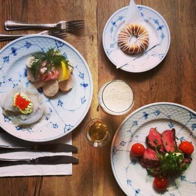 nytårskur frokost smørrebrød restaurant kronborg københavn