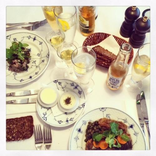 Den bedste frokost restaurant kronborg københavn smørrebrød
