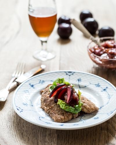 rødtungefilet blommekompot god dansk frokost restaurant kronborg københavn copenhagen cooking