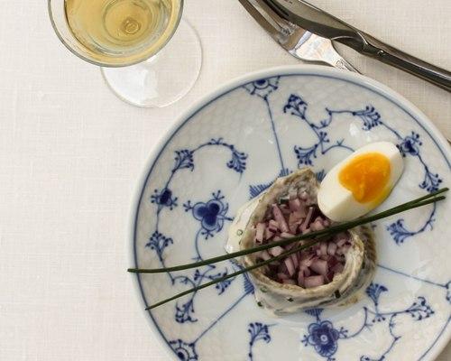 sild opskrift smørrebrød frokost restaurant kronborg københavn