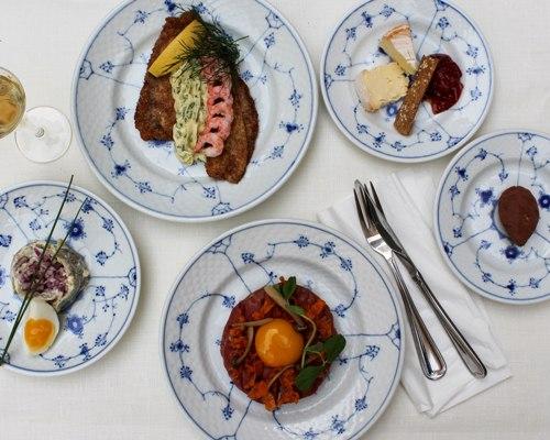 Smørrebrød menu frokost restaurant kronborg i københavn taste of copenhagen cooking