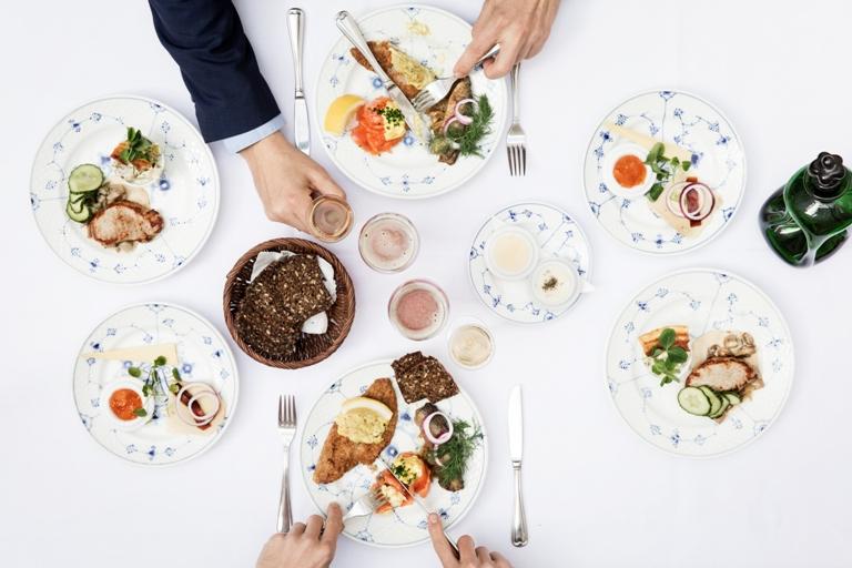 forretningsfolkenes favorit frokost forretningsmand smørrebrød københavn traditionel klassisk