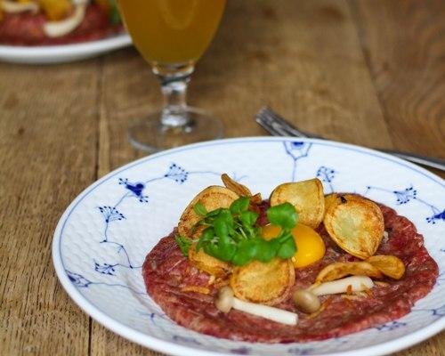 tatar opskrift smørrebrød restaurant kronborg københavn dansk traditionel