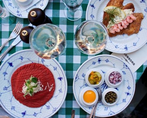 top ti smørrebrød restaurant København madblogger