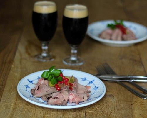 opskrifter dansk mad sommerbuk restaurant kronborg