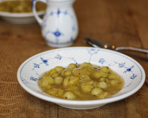 gooseberry compote recipes traditional danish food restaurant kronborg