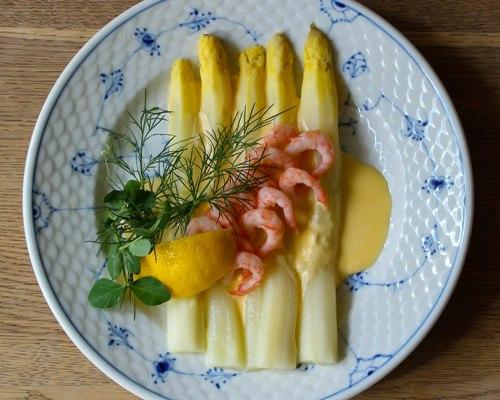 Asparges, smørrebrød, frokost, restaurnant, kronborg, nørrebro bryghus