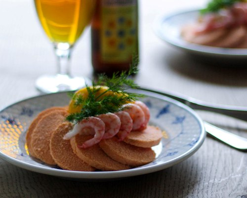 cod roe smørrebrød lunch restaurant kronborg shrimps