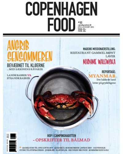 Danish foodie magazine, COPENHAGEN FOOD, keeps you updated on food, restaurants, trend-setters, travel and other interesting matters. Browse our copy next time you enjoy your lunch at Restaurant Kronborg.