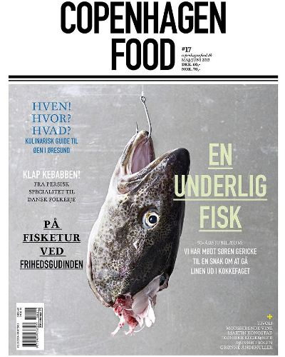 Danish magazine, COPENHAGEN FOOD, keeps you updated on food, travel, strong personalities and the best restaurants in Copenhagen. Browse our copy next time you enjoy your lunch at Restaurant Kronborg.
