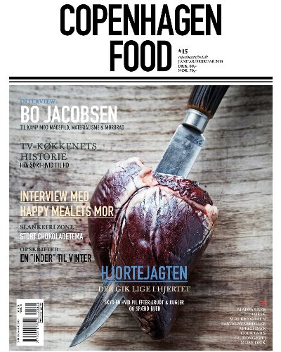 Danish foodie magazine, COPENHAGEN FOOD, keeps you updated on food, restaurants, travel and other enjoyable things. Browse our copy next time you enjoy your lunch at Restaurant Kronborg.