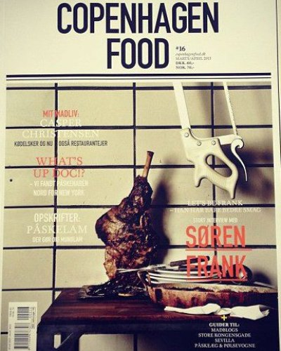 Danish food magazine, COPENHAGEN FOOD, keeps you updated on food, restaurants, travel and other enjoyable things. Browse our copy next time you enjoy your lunch at Restaurant Kronborg.