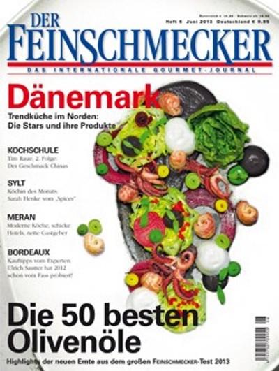 De hyggelige lokaler, udvalget i sildemadder og den røgede ål får det tyske madmagasin Der Feinschmecker til at anbefale en frokost på Restaurant Kronborg.