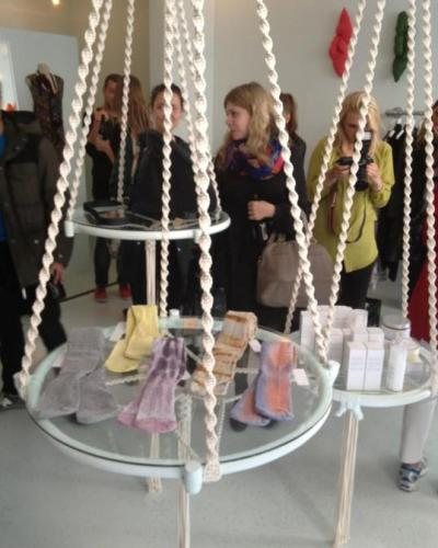 """Karrusel is an amusement ride for fashion lovers, offering original and exclusive goods from young as well as prominent Scandinavian designers,"" say the three lovely girls running the new boutique, Karrusel, at Knabrostræde 1A."