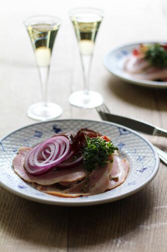 Snaps, Frokost, Restaurant Kronborg, Opskrift, Bøgeskud, Traditionelt dansk, Rullepølse