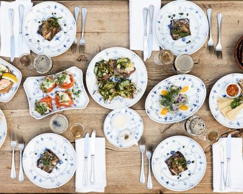 frokost restaurant kronborg smørrebrød traditionelt dansk