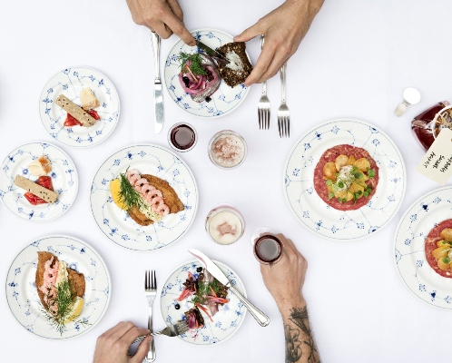 smørrebrød sæsonens bedste lokale råvarer menu Copenhagen cooking food festival københavn frokost