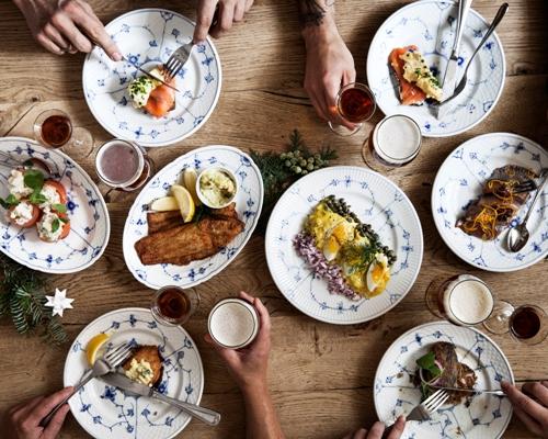 julefrokost sild laks snaps hjemmelavet klassisk traditionel dansk restaurant kronborg københavn